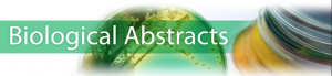Logo of Biological Abstracts