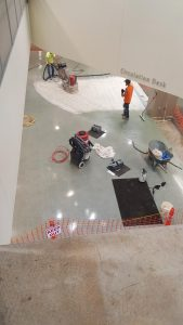 Photo of terrazzo flooring